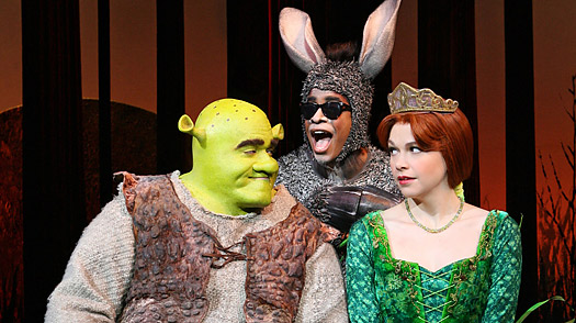 Shrek! On Broadway!!