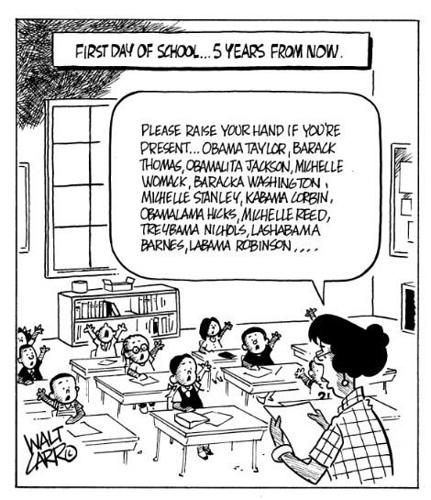 Obama Comic Strip
