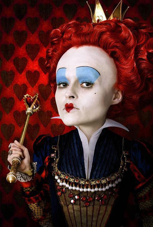 Helena Bonham Carter Red Queen