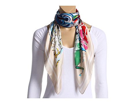 ed hardy silk scarf