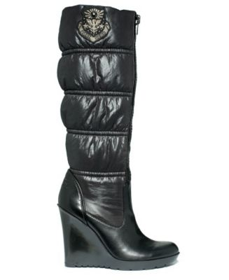 guess elize boot black