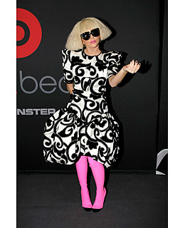 lady_gaga worst dressed time pink tights