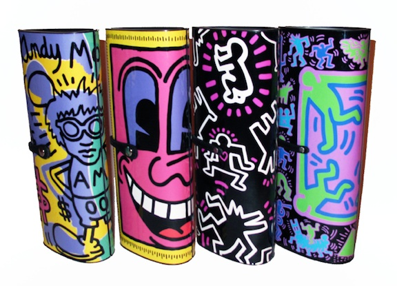 patricia field keith haring clutch