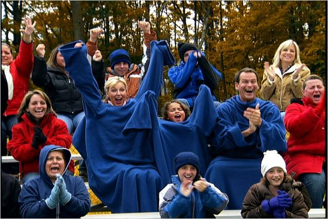 snuggie family game blue tv ad