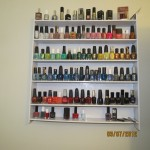 diy rack nail polish #nails #diy